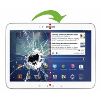 Changement vitre tactile Galaxy Tab 4 10.1 p