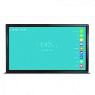 "Ecran 86"" interactif tactile Android CleverTouch Plus Lux 4K - OTA Double-slot"