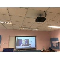 Installation video projecteur interactif