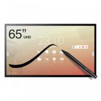 Ecran 65'' interactif tactile capacitif Android SpeechiTouch UHD