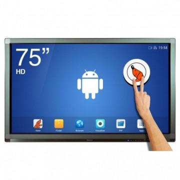 Ecran interactif tactile Android SpeechiTouch UHD - 75""